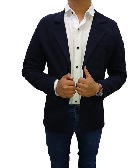 Blazer Saco Hombre Caballero Slimfit