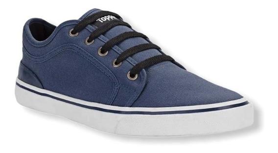 Zapatillas Topper Urbana Jiro Hombre Azul