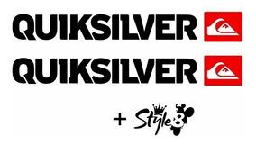 2 Adesivos Moto Quiksilver Para Roda Style8