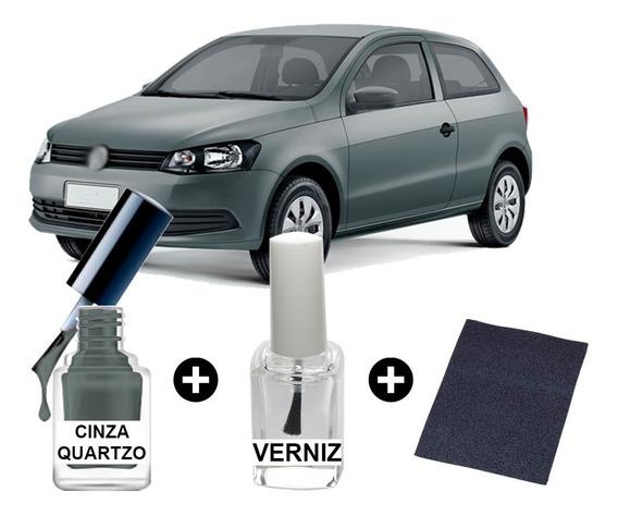 Tinta Tira Risco Automotiva Gol Cinza Quartzo