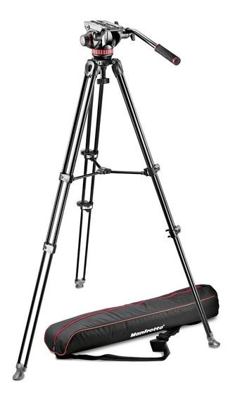 Tripé Manfrotto Mvk502am Profissional Filmadora C/ Mvh502ah