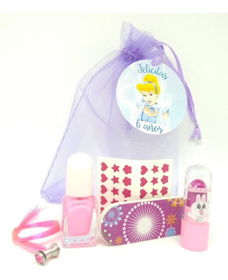 Souvenir Spa Nena X 20 Esmalte Labial Lima Etc Personalizado