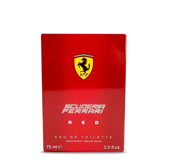Perfume Ferrari Red 75ml Masculino Original Envio Imediato