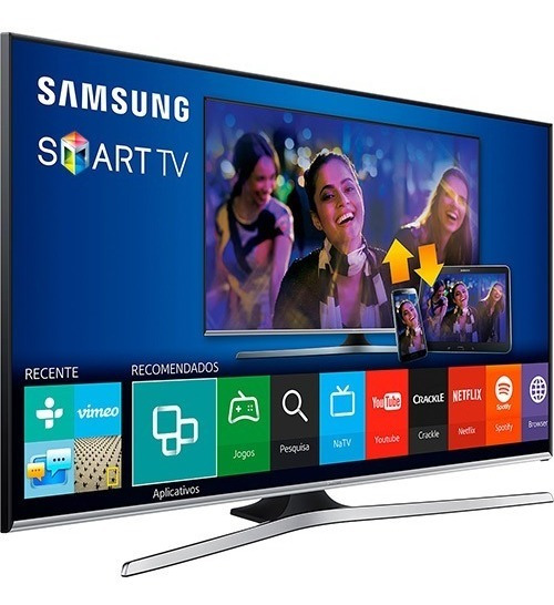 Smart Tv Led 55 Full Hd Samsung 55j5300 Perfeito !