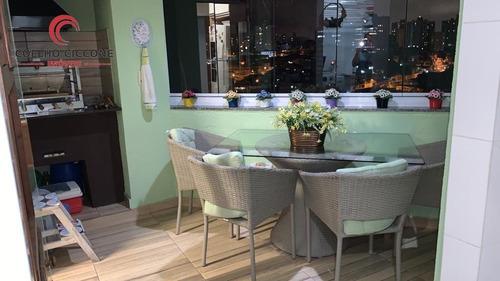 Imagem 1 de 9 de Apartamento A Venda No Bairro Vila Guiomar - V-5003