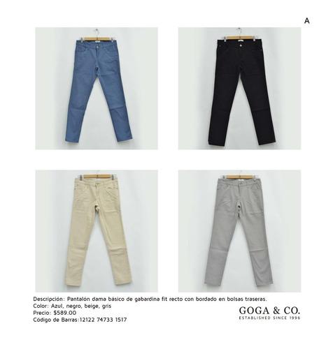 Goga Jeans Dama Garantia Colores Modelos Mercado Libre
