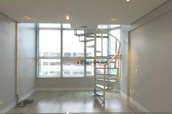 Apartamento Duplex Com 1 Dormitório, 55 M² - Venda Por R$ 430.000,00 Ou Aluguel Por R$ 2.200,00/mês - Santana - São Paulo/sp - Ad0017