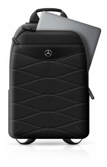 Backpack Mochila Uban Mercedes Benz Negro 15 Original