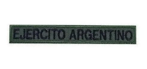 Escudo Tira Bordado Ejercito Argentino Militar