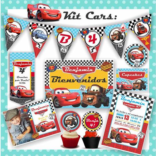 Kit Imprimible Cars