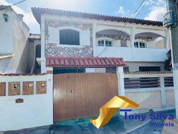Ótima Casa Independente Com 4 Quartos No Braga Em Cabo Frio!!! - 1058