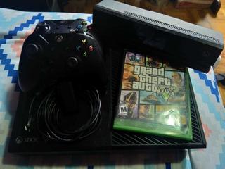 Xbox One 500 Gb 2 Controles, Kicnet 1 Juego Gta V 10/10