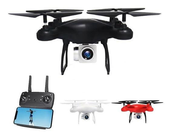 2.4g Mini Rc Drone Quadcopter Com Câmera - Preto