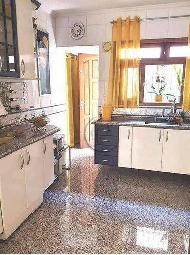 Casa Com 2 Dormitórios Para Alugar, 96 M² Por R$ 5.800,00/mês - Jardim - Santo André/sp - Ca3099