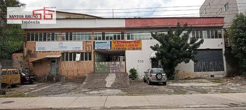 Galpão À Venda, 1000 M² Por R$ 6.000.000,00 - Pirituba - São Paulo/sp - Ga0121