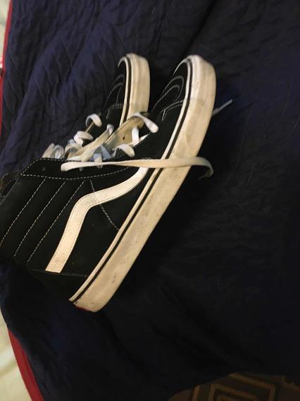 Vans R8 Skate Botitas Black/white