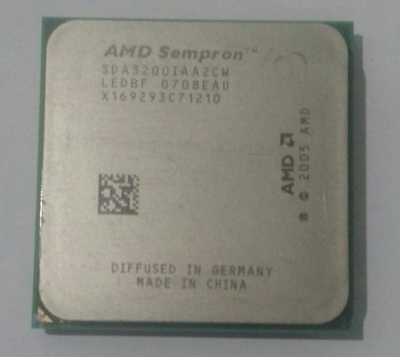 Processador Amd Sempron 64 3200 Sda3200iaa2cw
