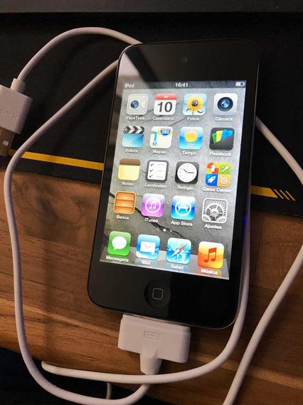 Apple iPod 8gb Touch C/ Camera Fotografica 4a Geração Ipho