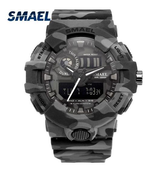 Relógio Smael 8001 (cinza)