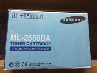 Toner Samsung Ml-2550da Original (2550/2551/2552)