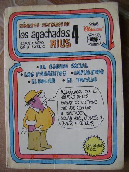 C2 Numeros Agotados. Los Agachados 4. Rius 1974