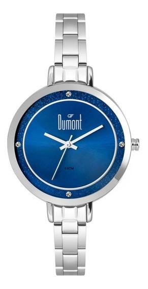 Relógio Unissex Dumont Elements Prata Dugm10ak/3a