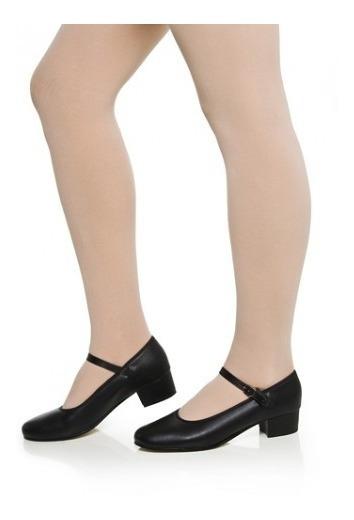Sapato Dança De Salão Capezio Korino Salto 4cm Preto