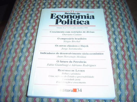 Revista De Economia Política, Volume 18, N. 3