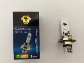 Lampada Stallion Led Branca H4 8000k Nxr 150 Bros Es Uni