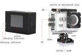 Câmera Filmadora Hd 12mp Gimbal Drone Wifi 4k