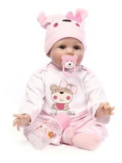 Bebes De Silicona Para Bebé Recién Nacido, 55 Cm