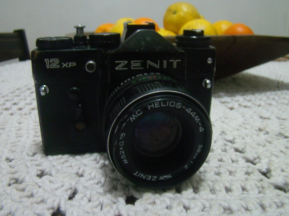 Câmera Fotográfica Zenit 12 Xp , Ler Descrição