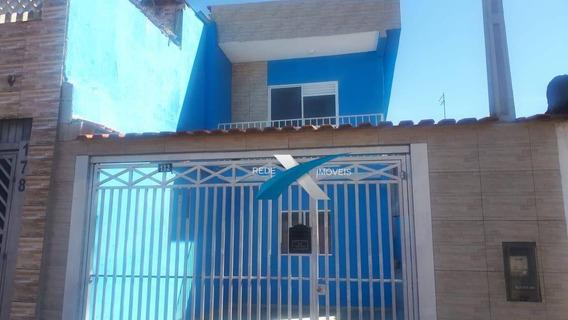 Sobrado Com 3 Dormitórios Na Cidade Edson Em Suzano/sp - So0047