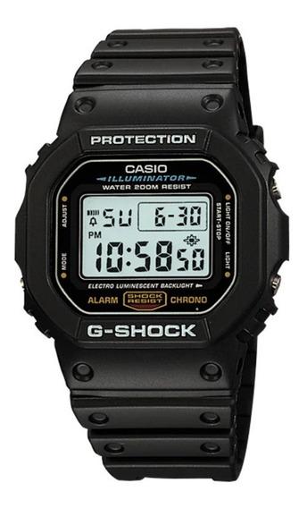 Relógio Casio G-shock Masculino Dw-5600e-1vdf Original + Nf