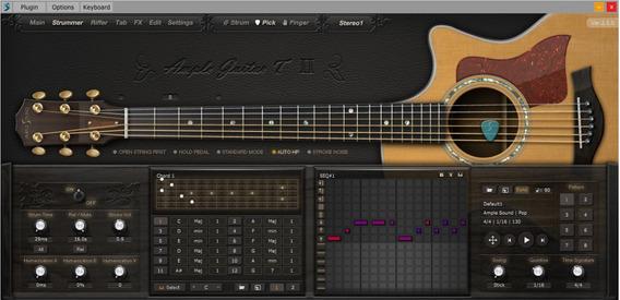 Ample Guitar T 2(violão, Vst, Vsti)