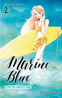 Marine Blue Nº 02/04: El Azul Qu. Envío Gratis 25 Días