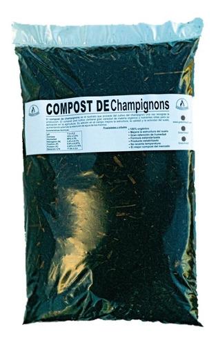 Compost Premium Organico De Champignon Enmienda Organica 10l
