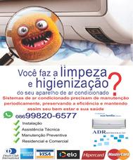 Limpeza E Higienização De Ar Condicionados