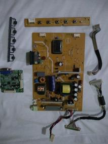 Placa Completa Do Monitor Hp W17e Lcd