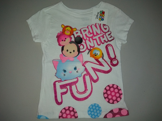 Playera Niña Tsum Tsum Fun Disney Friends Talla 8