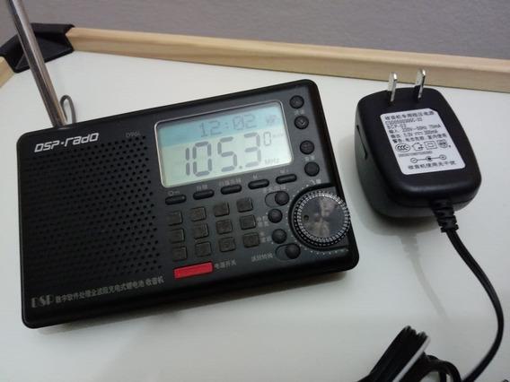 Rádio Am Fm E Ondas Curtas Dsp Kchibo Modelo D96l