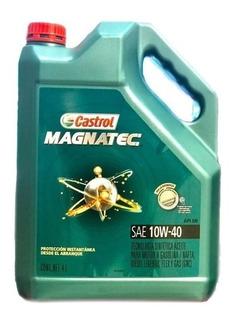 Aceite Castrol Magnatec Semisintetico 10w40 X 4 Litros - Check Oil