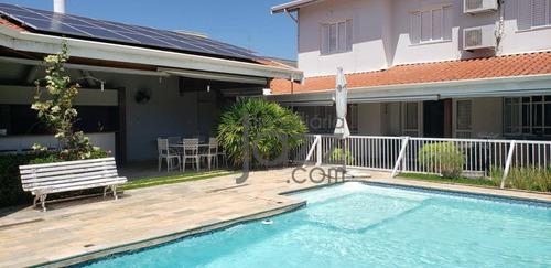 Casa No Condomínio Triângulo Em Barão Geraldo, Campinas - Ca6084