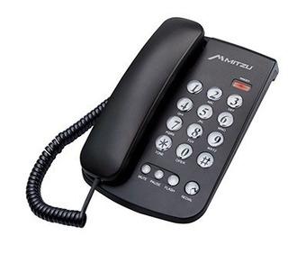 Teléfono Con Led Indicador De Llamada Mitzu 370