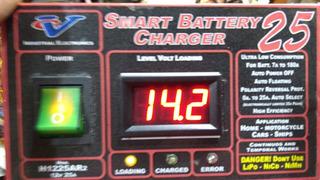 Cargador Mantenedor Batería Inteligente 12v 25 A - Floating