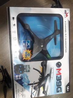Drone M39g Con Cámara Y Luces. 4 Canales