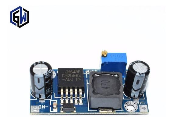Kit 10 Modulo Regulador Tensão Entra 3a40v Sai 5a24v Dc 3a