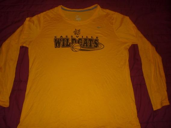 L Remera Deportiva Nike Cassville Wildcats Nba Nfl Art 8432