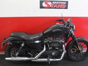 Harley Davidson Sportster Xl 883 N Iron 2015 Preta Preto