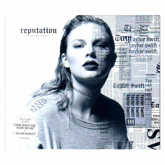 Taylor Swift Reputation Cd The Breeze Original Novo Lacrado